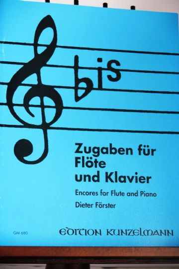 'Bis Encores for Flute & Piano arr Frster D
